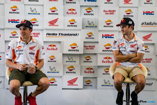 MotoGP, Repsol Honda, Dani pedrosa, Marc Marquez