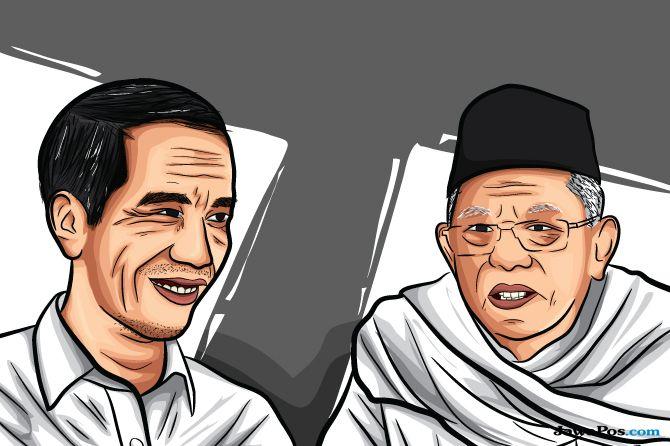Ma'ruf Amin Cawapres Jokowi, MUI Kepri: Gus Dur Pernah Jadi Presiden
