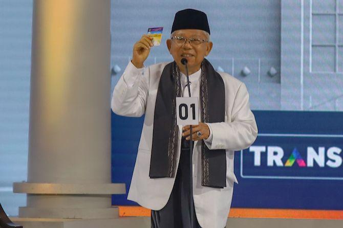 Ma'ruf Amin Siap Turunkan Angka Stunting Hingga 20 Persen per Tahun