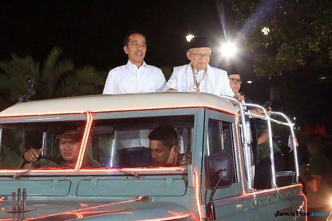 Ma'ruf Blusukan ke Pasar, Sandi: Luar Biasa, Senior Mau Panas-panasan