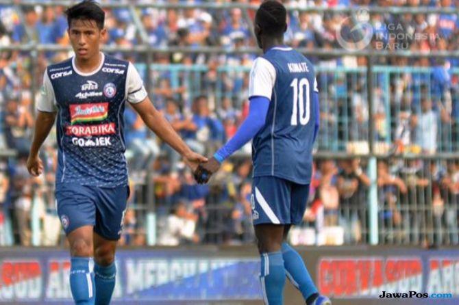 Liga 1 2018, Arema FC, Hanif Sjahbandi, makan Konate