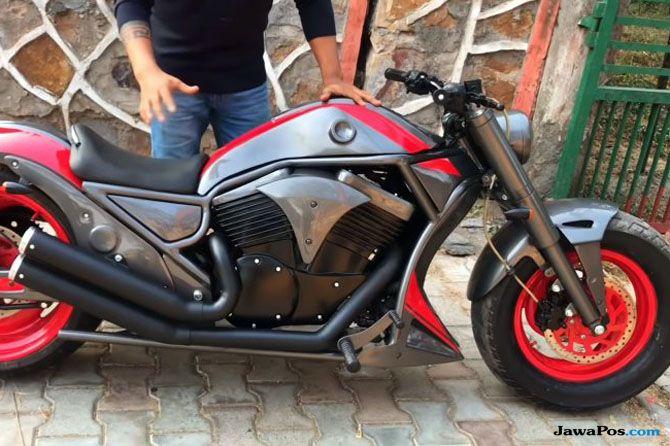 Mau Coba Moge Bajaj Rasa Harley-Davidson, Begini Penampakannya!