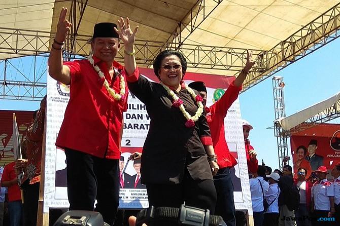 Megawati Turun Gunung Untuk Menangkan Hasanah