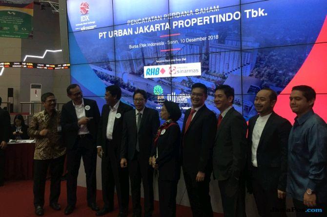 Melantai di BEI, Saham Jakarta Urban Propertindo Melejit 50 Persen