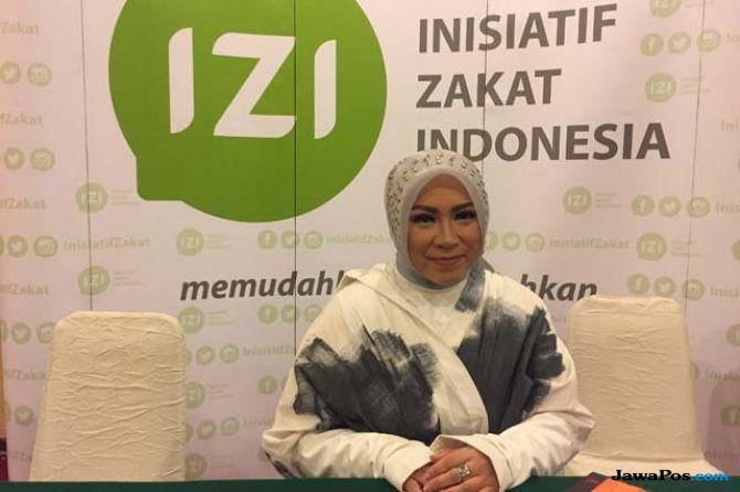 Melly Goeslaw Senang Gabung di Konser Amal IZI untuk Lombok dan Palu