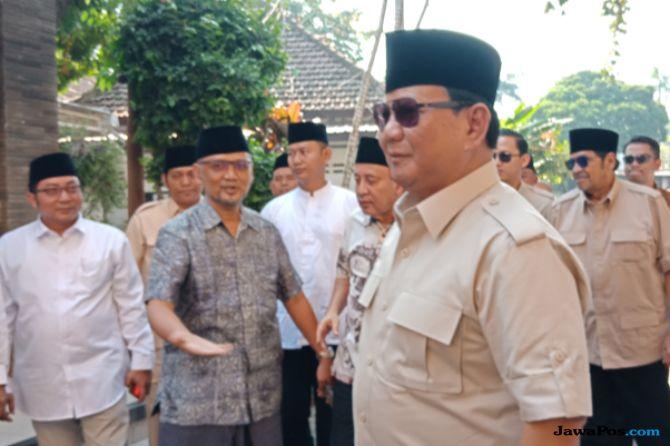Mendadak Rapat dengan Partai Koalisi, Prabowo Batalkan Agenda di Jatim