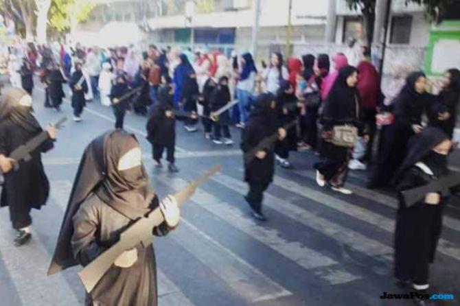 Mendikbud Muhadjir Sebut Karnaval Anak TK Pakai Cadar Tidak Radikal