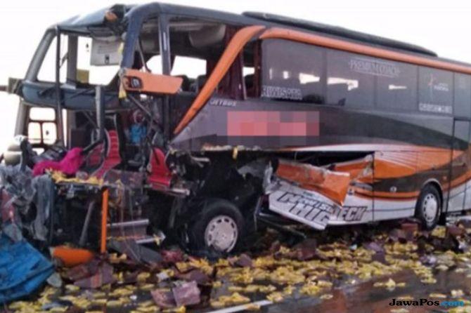 Mengantuk Saat Mengemudi, Sopir Bus Agam Tungga Jaya Jadi Tersangka