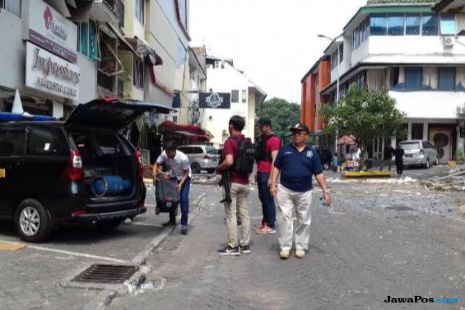 Mengerikan! Tabung Gas 12 Kg Meledak, 11 Ruko di Grand Wijaya Rusak