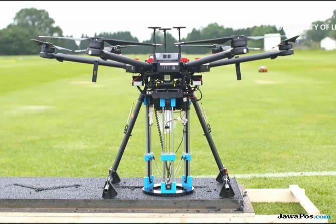 drone, drone perbaiki jalan, manfaat drone perbaikan jalan