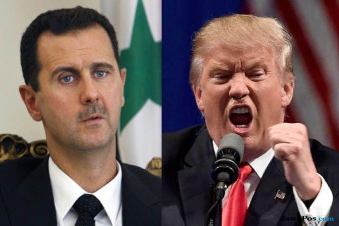 Donald Trump, Bashar Assad, Trump Bunuh Bashar Assad