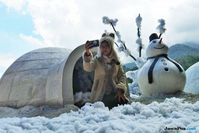 Menikmati Spot Selfie Ala Kutub Utara Hingga Sepeda Udara di Batu b638350f72