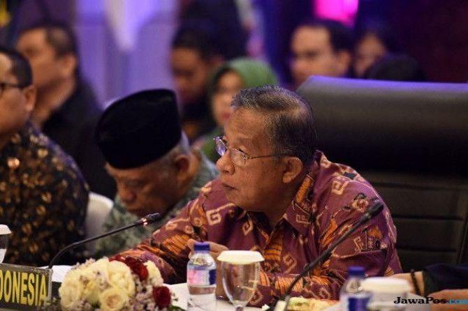 Menko Darmin Rapat Dengan Yasonna, Bahas Kemudahan Bisnis di Indonesia