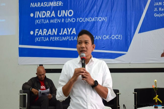 Ketua Yayasan Mien R Uno Indra Uno