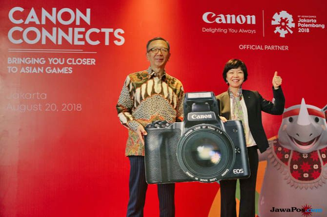 Canon, canon asian games, Howard Ozawa