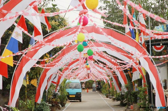 Meriahnya Perayaan HUT-RI ke-72 di Kota Taman