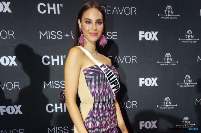 Mimpi Ibu di Balik Gaun Merah Miss Universe 2018, Catriona Gray
