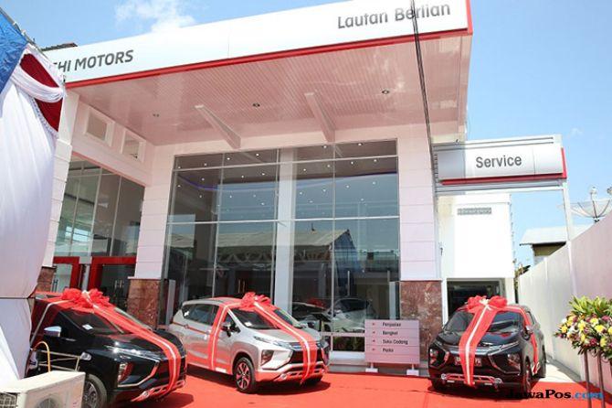 Mitsubishi Buka Diler Resmi Pertama di Pangkal Pinang