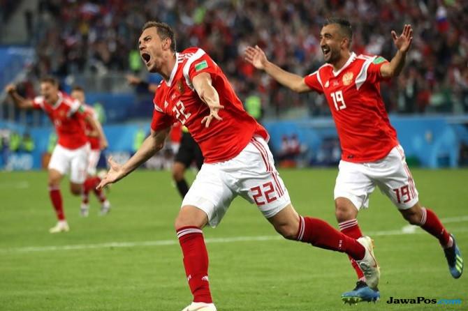 Piala Dunia 2018, Mesir, Rusia