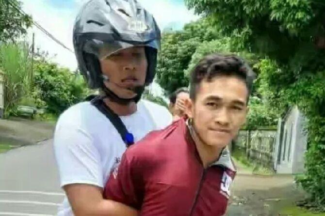 Mobil Curian Kehabisan Bensin, Pelaku Ditangkap Warga