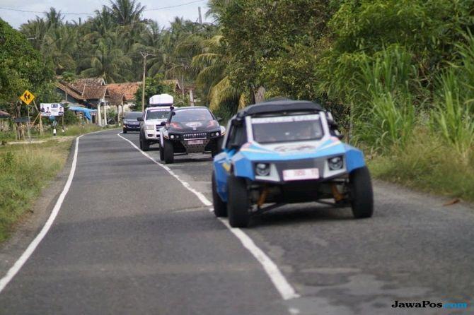 Mobil Listrik Blitz Karya Anak Bangsa Tiba di Medan