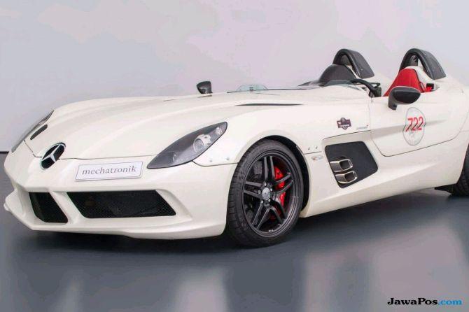 Mobil Mancung Buah Kolaborasi Mercedes - McLaren Dijual Rp 48,9 Miliar