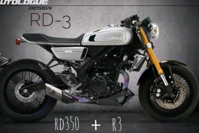 Modifikasi Yamaha YZF-R3 Buas Berubah Jadi Cafe Racer Manis