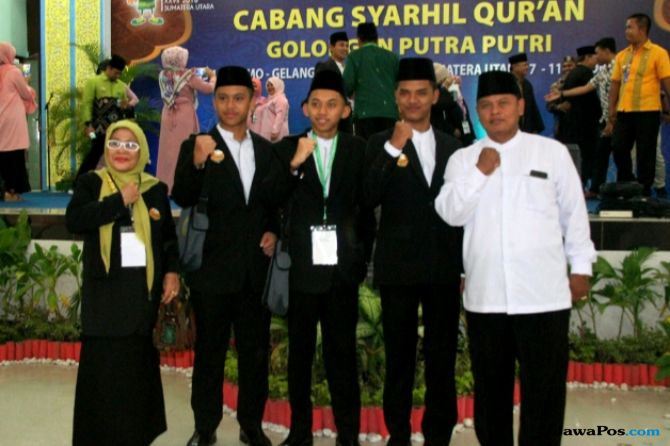 MTQ Nasional 2018, Sumut Sikat Juara 1 Cabang Syarhil Quran