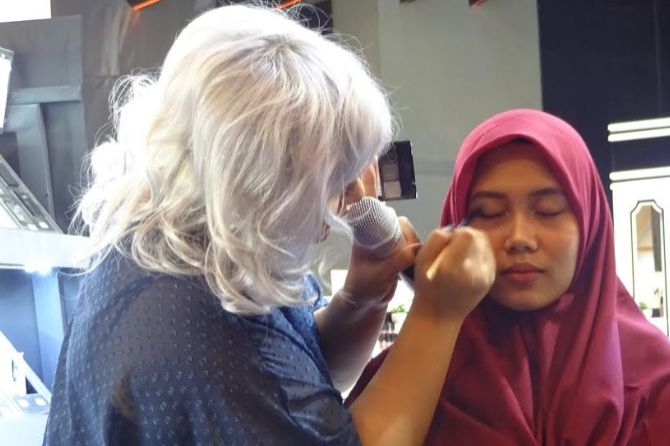 tips make up, riasan smokey eyes,