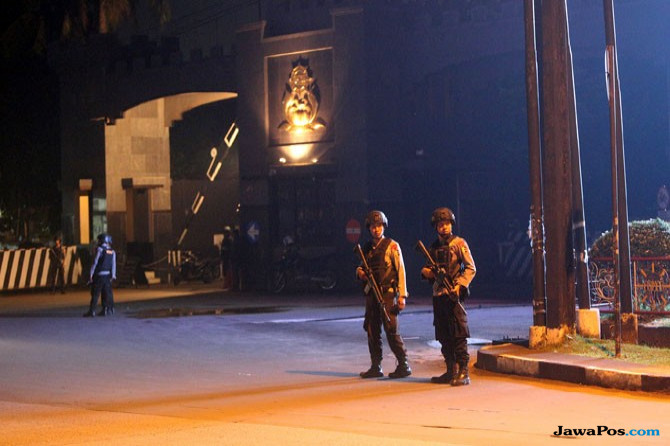 Napi Teroris dari Dalam Mako Brimob Kelapa Dua Teriakkan Mati Syahid?