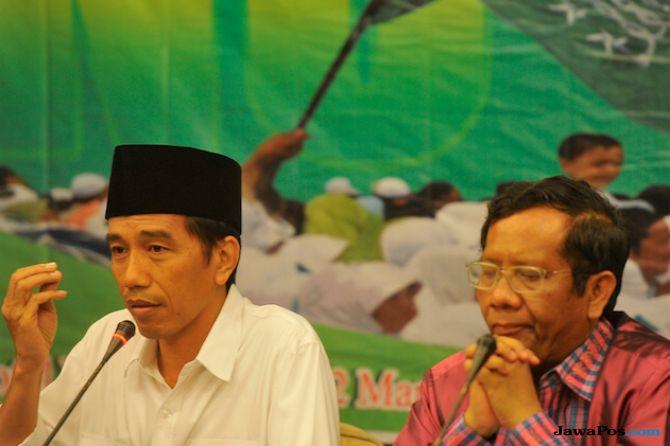 Jokowi dan Mahfud MD