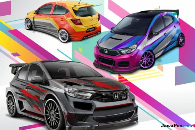 Ngaku Suka Modifikasi? Ikutan Nih 'Honda Brio Virtual Modification'