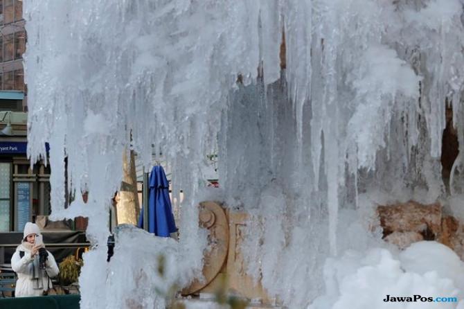 Ngeri, Cuaca Dingin Ekstrem Tewaskan Sembilan Orang di AS
