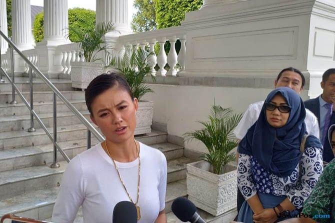 Ngobrol Santai Bareng Jokowi, Ini yang Dibahas Agnes Monica