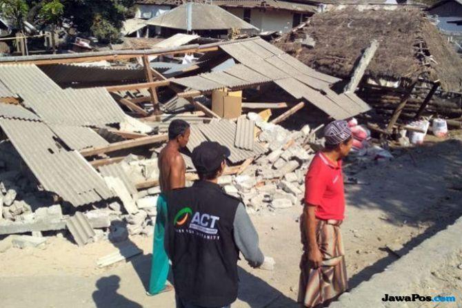 Nilai Kerusakan Akibat Gempa NTB Capai Rp 10 Triliun