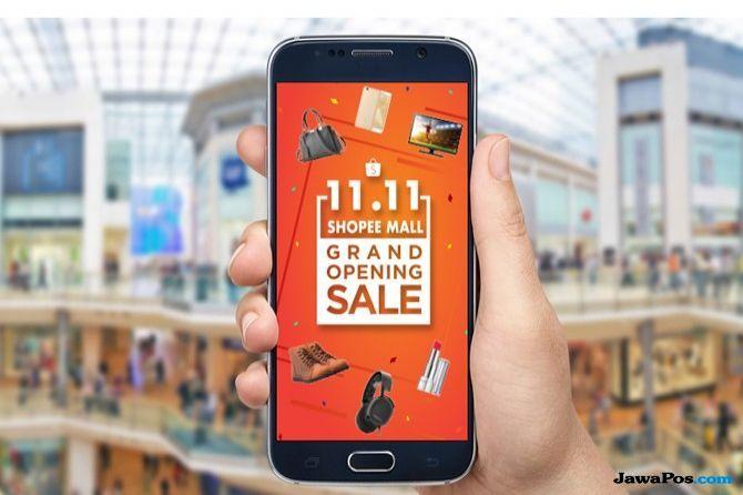 Nilai Transaksi Pelaku E-Commerce Di Acara 11.11 Naik Lima Kali Lipat