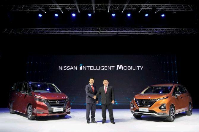 Nissan perkenalkan dua MPV baru di Indonesia