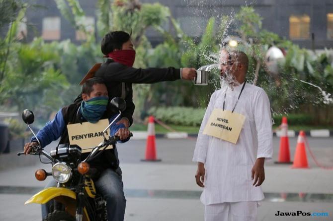 Novel Duga Penyerangan terhadap Pegawai KPK Didalangi Oknum Jenderal