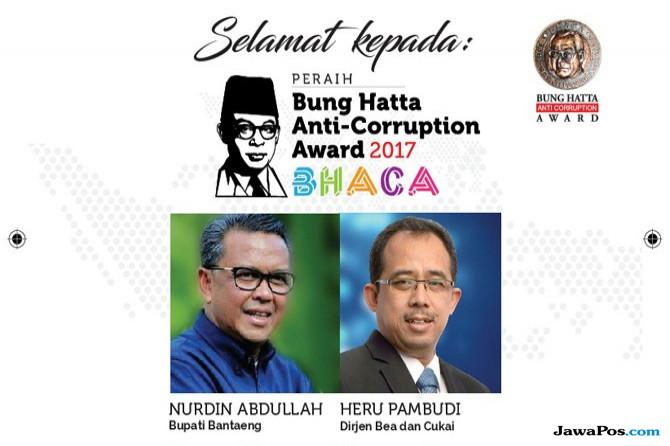 Nurdin Abdullah dan Heru Pambudi Raih Bung Hatta Anti-Corruption Award e81355015e