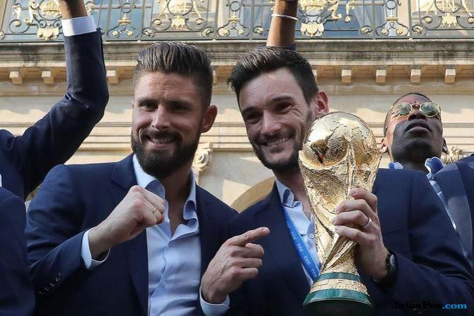 Olivier Giroud, Timnas Prancis, Piala Dunia 2018