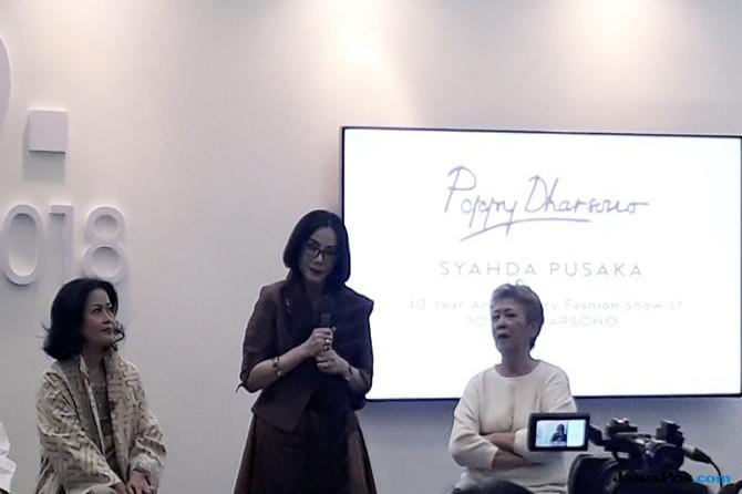 Pagelaran Show 40 Tahun Poppy Dharsono Tutup IFW 2018