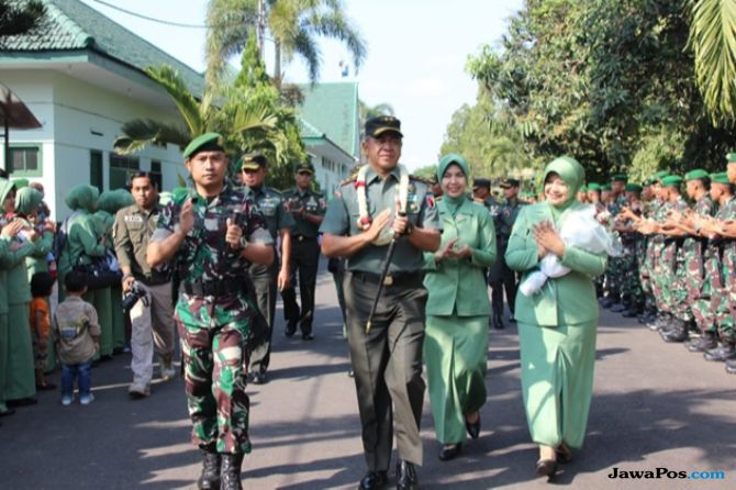 Pangdam V Brawijaya Ingatkan Prajurit Soal Netralitas di Tahun 2019