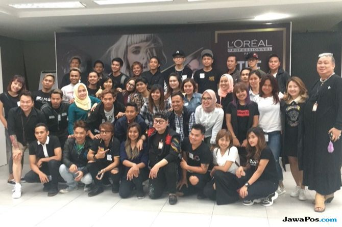 jakarta fashion week, jfw 2019, hairstylist,