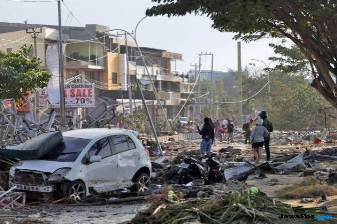 Pasca Gempa dan Tsunami, Polri Pastikan Keamanan Palu