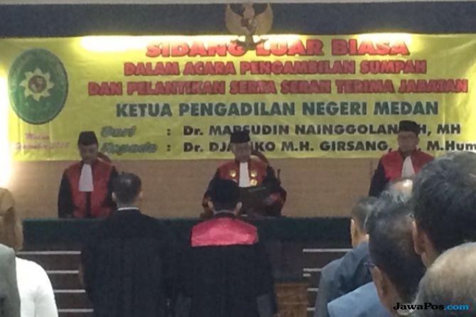 Pasca-OTT KPK, Ketua PN Medan yang Baru Janji Perangi KKN