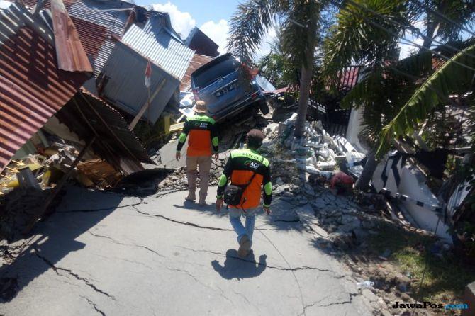 Pascagempa Palu dan Donggala, 3 Daerah di Sulteng Masih Terisolir