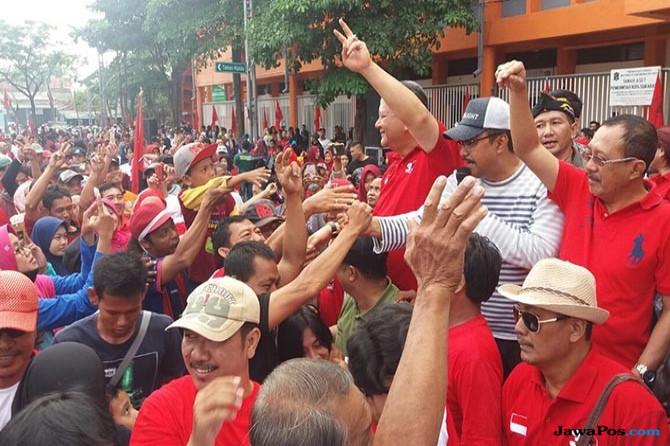 PDI Perjuangan Surabaya Optimis Targetkan Perolehan 30 Kursi