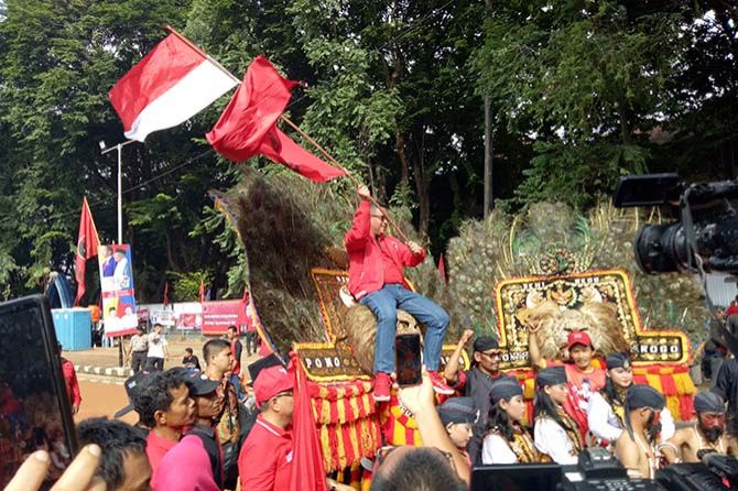 PDIP Awali Masa Kampanye Terbuka di Banten
