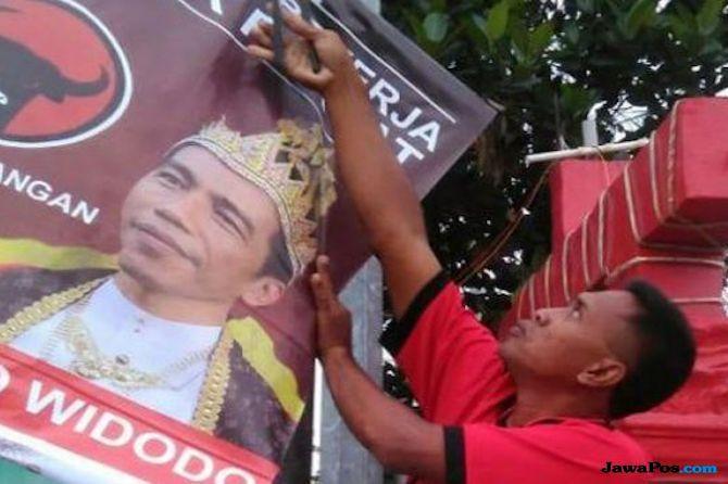PDIP Tunggu Dalang Poster Jokowi Raja, Bambang: Dijamin Tak Akan Lecet