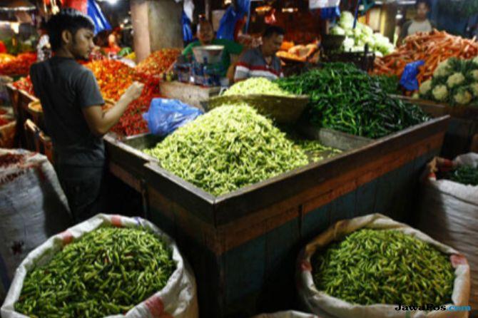 Pedagang Bingung, Harga Bahan Pokok di Palembang Melonjak
